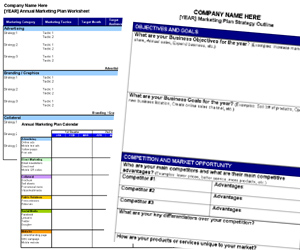 annual planning templates